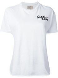 Sandrine Rose Embroidered T Shirt White