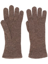 Blanca Knitted Cashmere Gloves 60