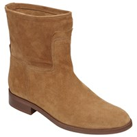 John Lewis Oprah Pull On Ankle Boots Tan