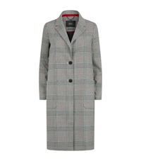 Set Houndstooth Coat Multi