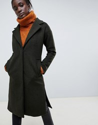 Parka London Sommersby Tailored Duster Coat Rifle Green