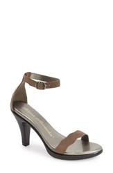 Athena Alexander Women's 'Lynsey' Sandal Taupe Suede