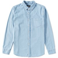 Stussy Denim Shirt Blue