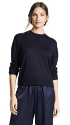 Ayr The Huzzah Wool Sweater Navy