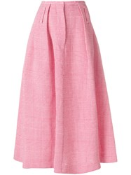 Golden Goose Deluxe Brand Eclipse Skirt Pink And Purple