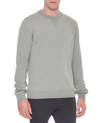 Dolce And Gabbana Crown Logo Crewneck Sweatshirt Light Gray Light Grey