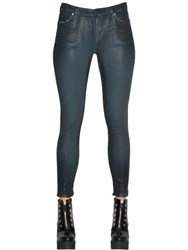 Diesel Black Gold Type 161C Waxed Skinny Cotton Denim