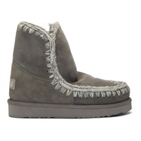 Mou Grey 18 Ankle Boots