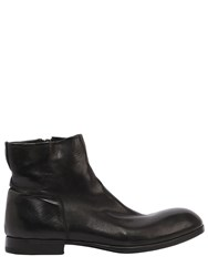 Preventi Zip Up Leather Boots