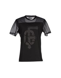 Criminal Topwear T Shirts Men Black
