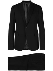 Emporio Armani Two Piece Suit Black