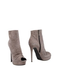 Giancarlo Paoli Ankle Boots Dove Grey