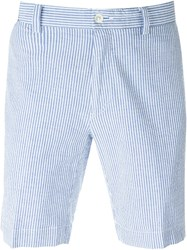 Polo Ralph Lauren Pinstripe Deck Shorts Blue