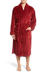 Polo Ralph Lauren Men's Microfiber Robe Avenue Red