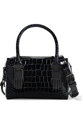 Opening Ceremony Lele Crocodile Shoulder Bag Blue