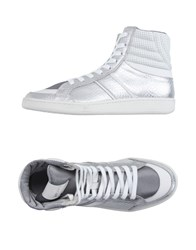 Just Cavalli Footwear High Tops And Trainers Men Silver