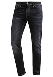 Bench Snare Straight Leg Jeans Dark Worn Blue Denim