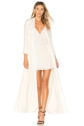 Lovers Friends X Revolve Late Evening Trench Ivory