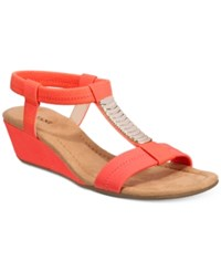 Alfani Women's Vacay Wedge Sandals Only At Macy's Women's Shoes Sunstone