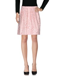 Alice San Diego Knee Length Skirts Light Pink