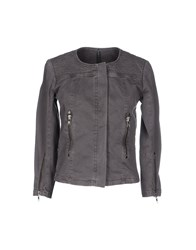 Liviana Conti Coats And Jackets Jackets Women Grey
