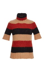N 21 No. Short Sleeve Striped Pullover Multi