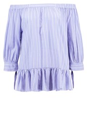 Saint Tropez Blouse Flipper Light Blue