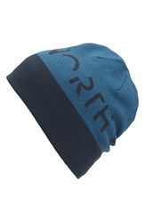 The North Face Men's Reversible Beanie Blue Urban Navy