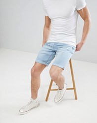 Only And Sons Denim Shorts Blue Denim