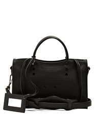 Balenciaga Blackout City Small Leather Bag