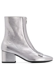 Dorateymur Heeled Boots Grey