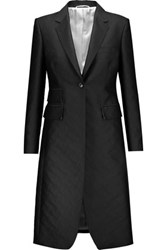 Thom Browne Jacquard Coat Black