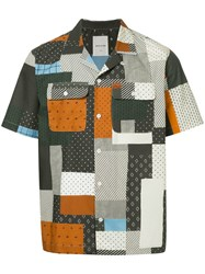 Wood Wood Quilt Miami Shirt Multicolour