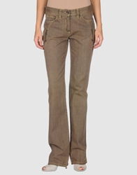 Caractere Aria Denim Pants Khaki