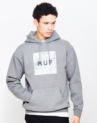Huf Concrete Box Logo Pullover Fleece Grey