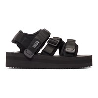 Suicoke Black Kisee Vpo Sandals