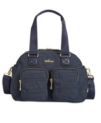 Kipling Defea Small Satchel True Dazzle Navy