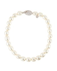 Majorica 14Mm Baroque Simulated Pearl Necklace White