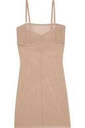 Yummie Tummie By Heather Thomson Woman Stretch Mesh Slip Neutral