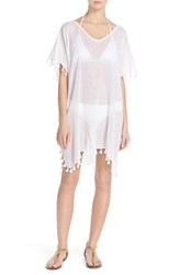 Women's Seafolly 'Amnesia' Cotton Gauze Cover Up Caftan
