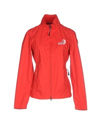 North Sails Coats And Jackets Jackets Women Red
