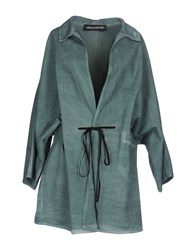 Collection Privee Overcoats Green