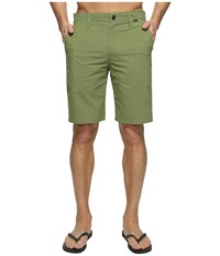 Hurley Dri Fit Chino Walkshort Palm Green Men's Shorts Olive