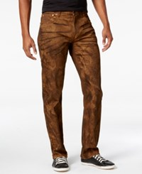 Lrg Men's Rc True Straight Fit Jeans Soot Wash Tobacco