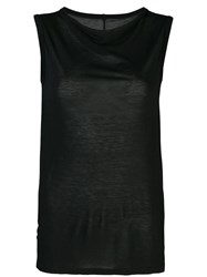 Rick Owens Sleeveless Relaxed Fit Tank Top 60