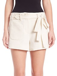 Helmut Lang Patch Pocket Shorts Ivory
