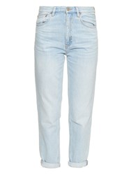 Mih Jeans Linda Mid Rise Boyfriend Jeans