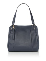 Dickins And Jones Olivia Shoulder Bag Navy