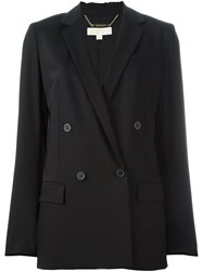 Michael Michael Kors Double Breasted Jacket Black