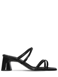 Dorateymur 60Mm Arena Patent Leather Sandals Black